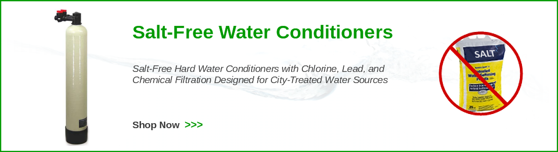 salt free water conditioners