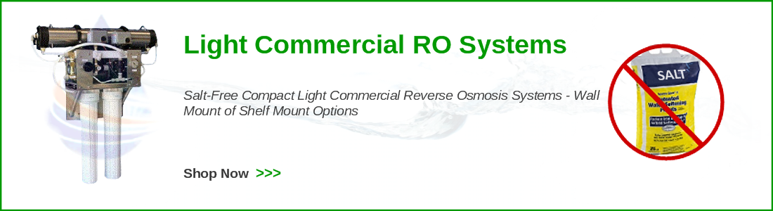 light commercial reverse osmosis