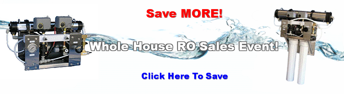 home reverse osmosis systemsi